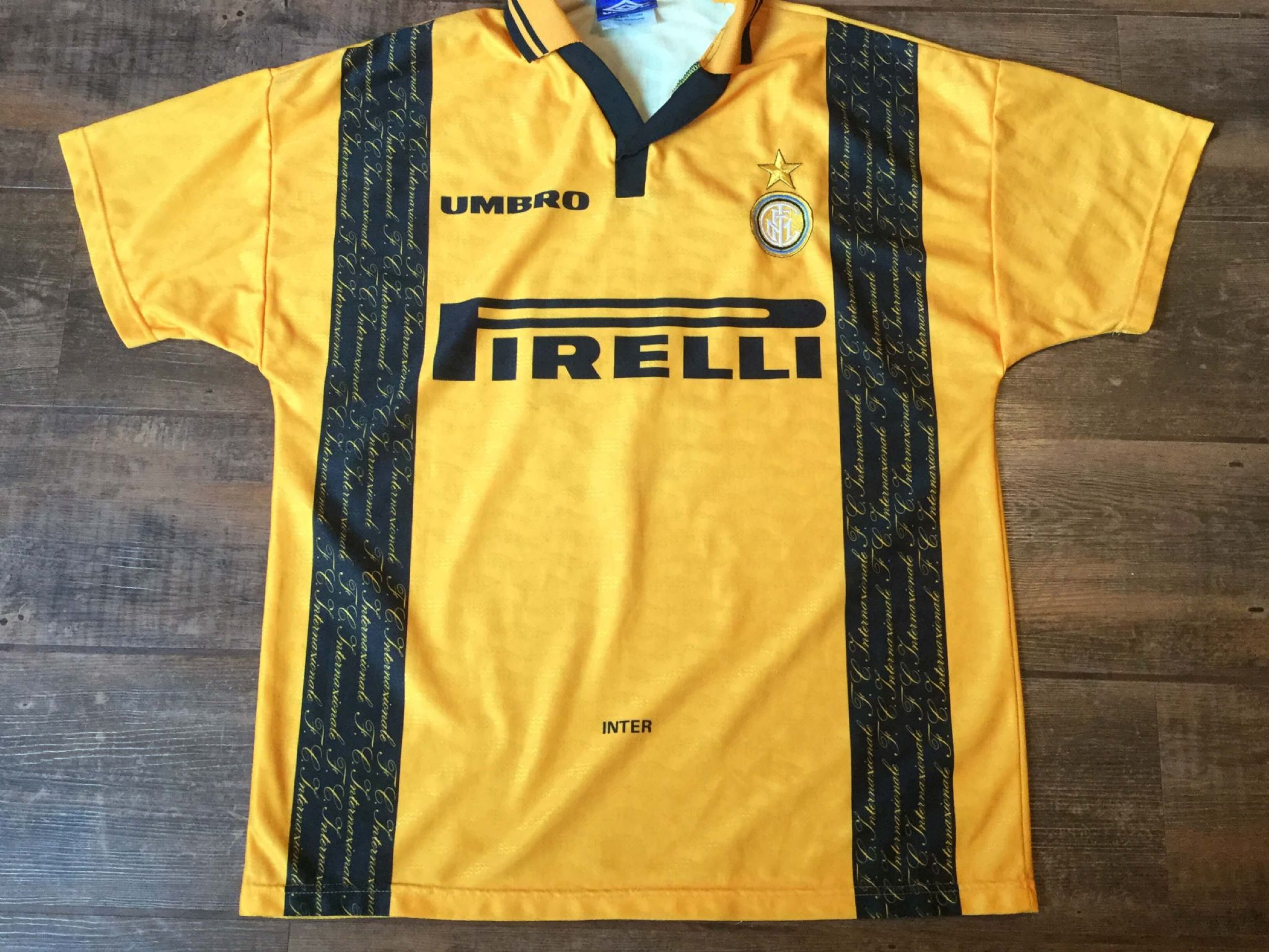 the best attitude 1684a 0444f Global Classic Football Shirts | 1996 Inter Milan Old ...